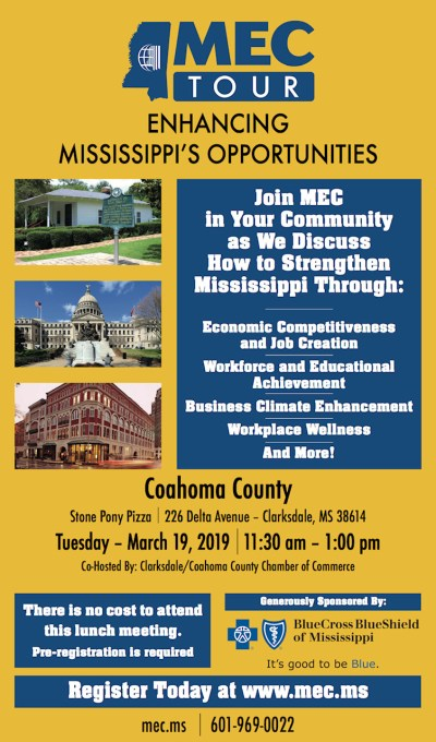MEC Tour Coahoma County Flyer