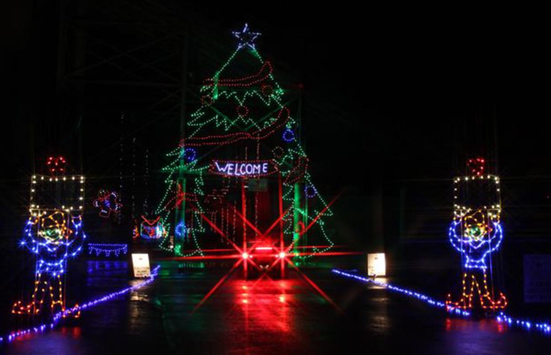 Christmas Lights Extravaganza Open At Clarksville Speedway
