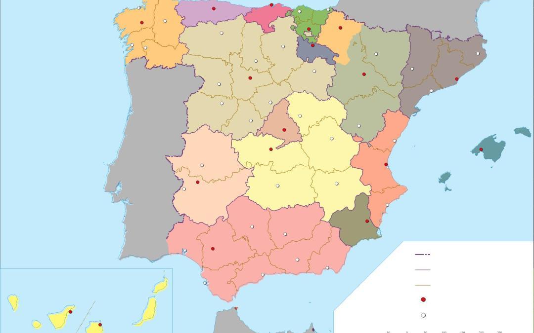 Mapas interactivos de España