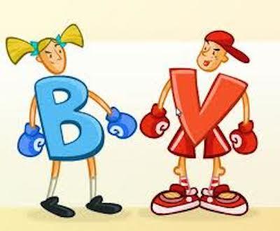 Palabras con B y V