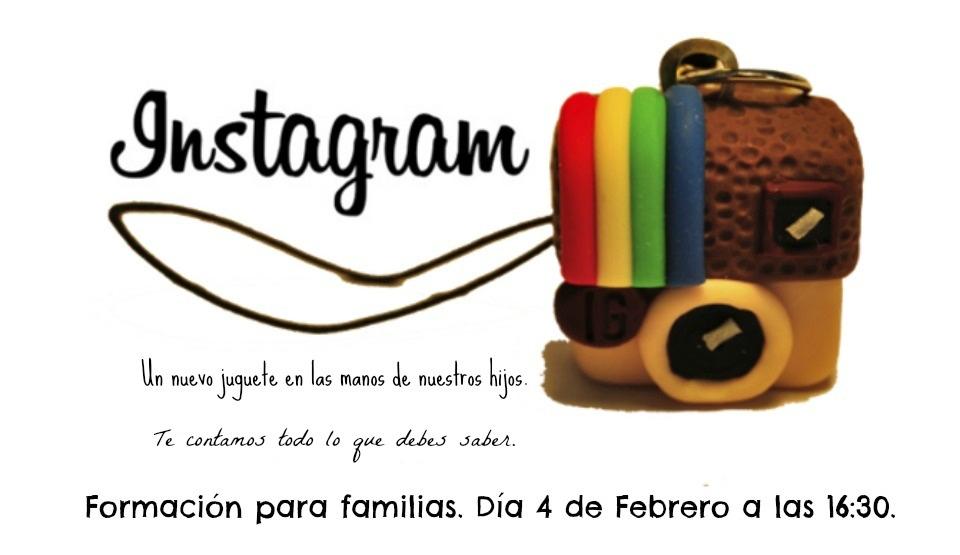 Charla sobre Instagram y los móviles