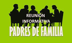 Reunión informativa de padres