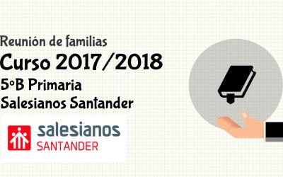 Reunión de padres 2017/2018