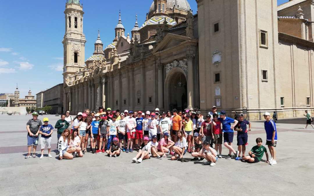 Viaje de fin de curso de 6º Bilbao-Logroño-Zaragoza