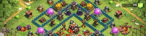 clash-of-clans-raiding-plenty-of-gold-with-archers