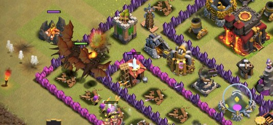 Clash-of-Clans-deploy-dragon-pack