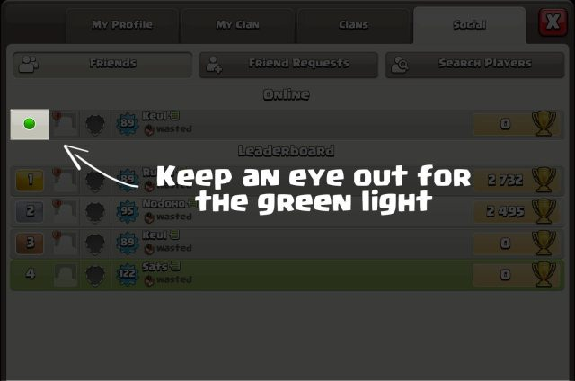 coc oct green light - Sneak Peek: miglioramenti social, utenti online e nuovi badge clan!