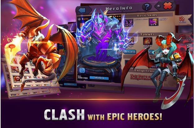Clash of Lords 2: New Age v 1.0.233 Mod (Android & iOS) All Unlocked