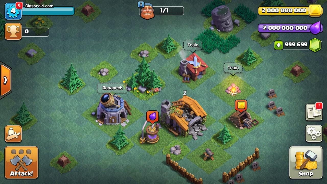 mods for clash of clans free