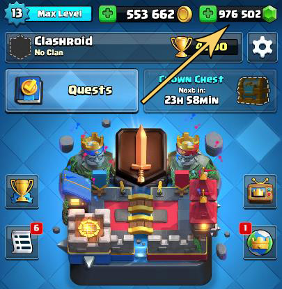 Clash Royale Mod Apk Unlimited Everything New Update