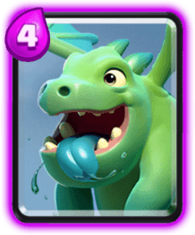Bebe Dragon Clash Royale