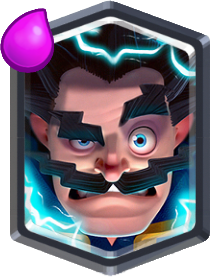 Carta Mago electrico Clash Royale