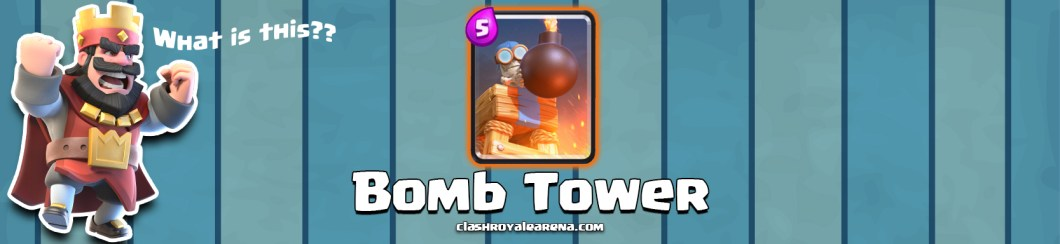 Clash Royale Bomb Tower