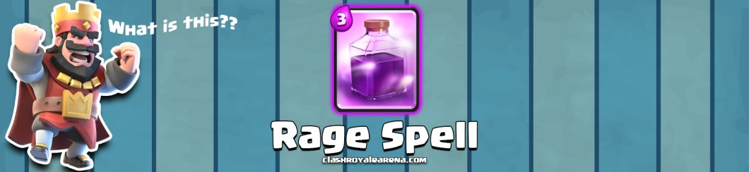 Rage Spell in Clash Royale