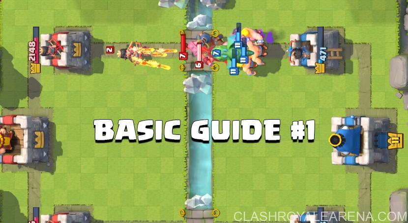 Basic Guide Clash Royale