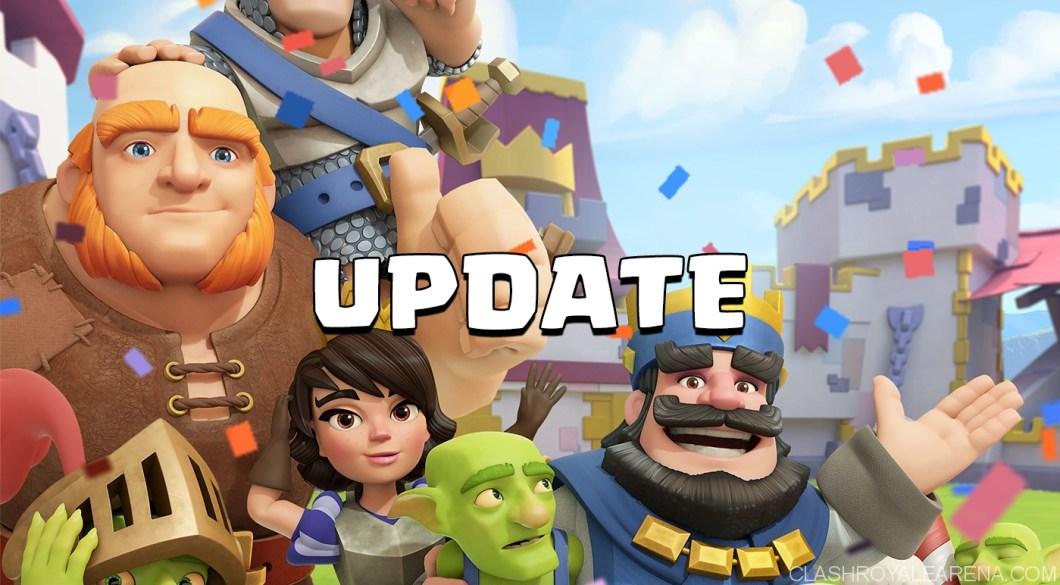 Clash Royale April Balance Update