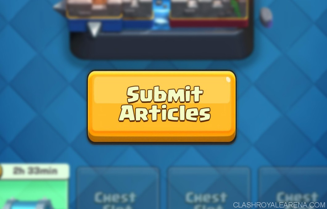 submit clash royale articles