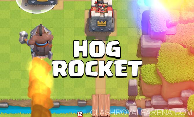 hog rocket
