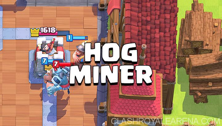 Hog Rider Miner Deck
