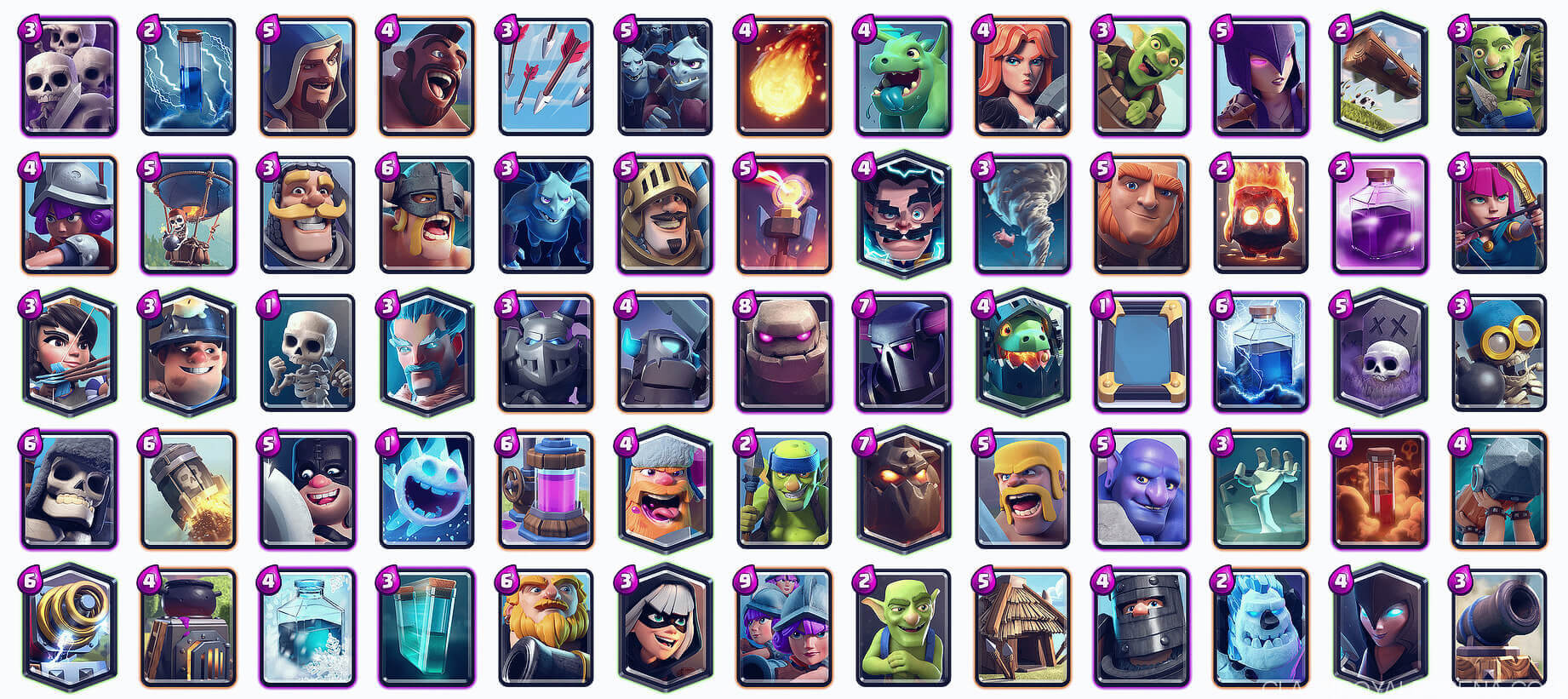 Ashs All Card Rankings Clash Royale Guides