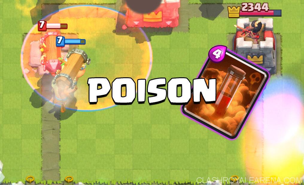 clash royale poison