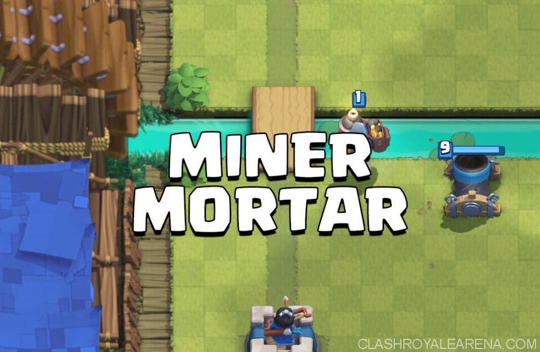 miner mortar