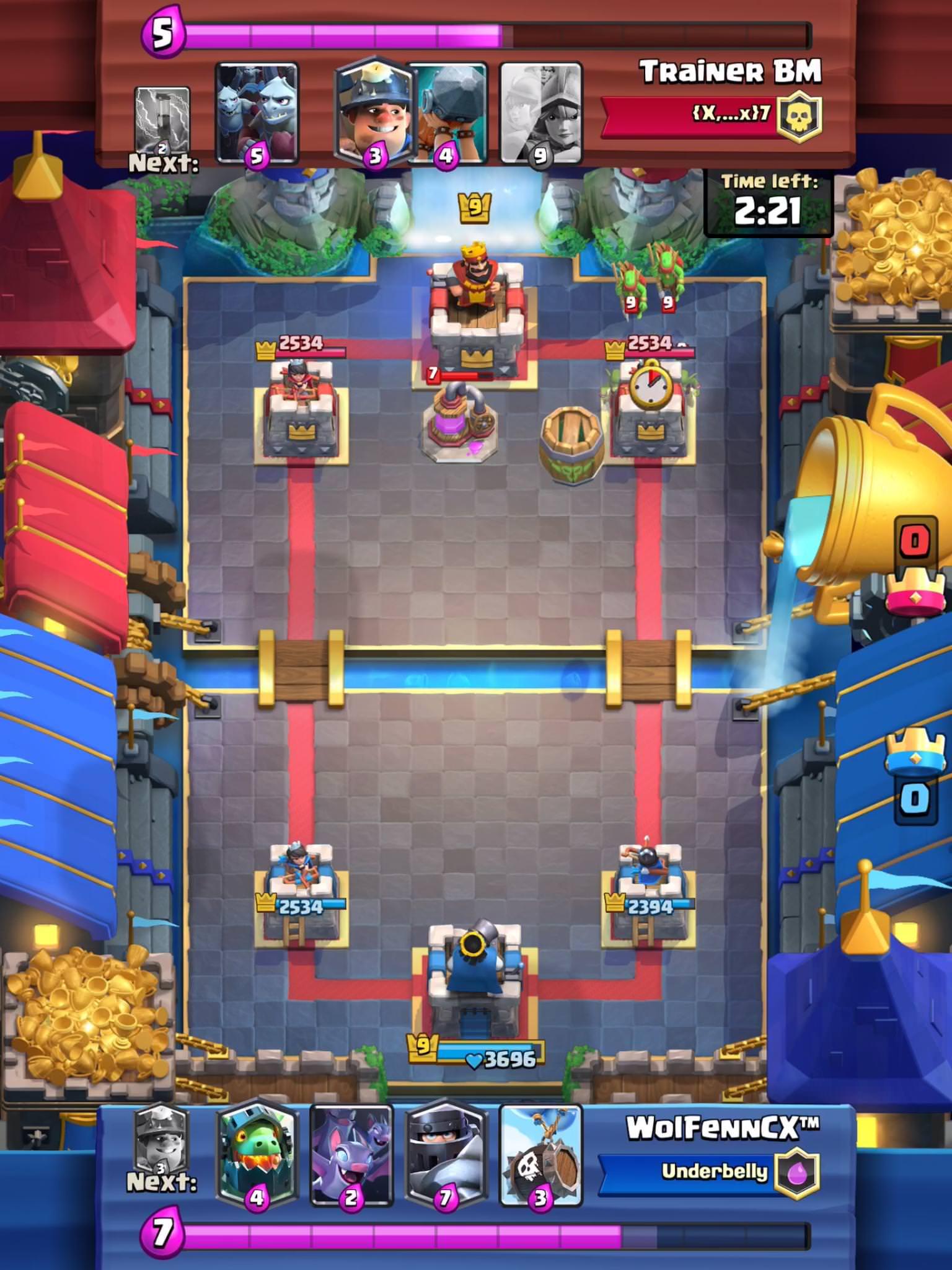 Arena Royale Clash Royal