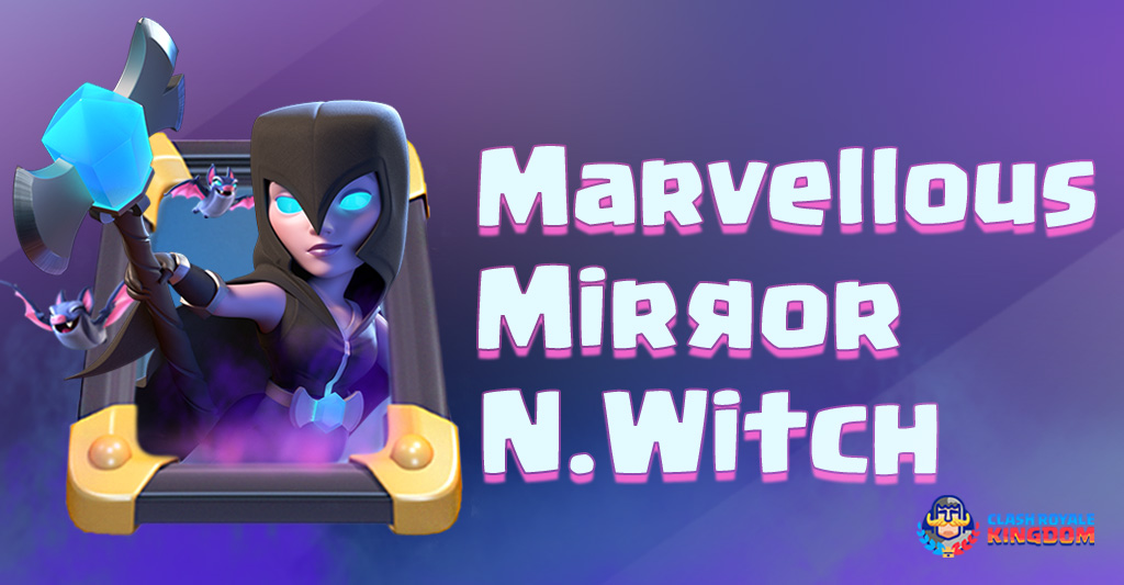Night Witch in Mirror – Marvellous Deck