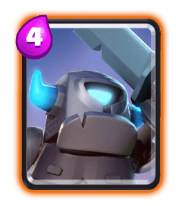 mini PEKKA-card-Clash-Royale-Kingdom