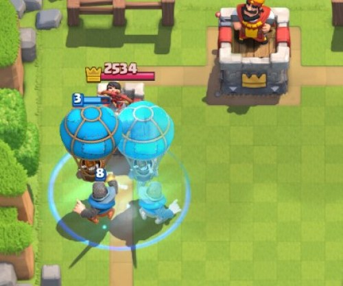 Clash-Royal-Kingdom-The-Balloon clone-Bomb(s)