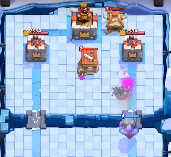Bowler-Sneak-Peek-Clash-Royale-Kingdom