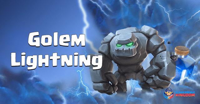 Golem Lightning Deck with Inferno Dragon