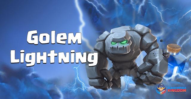 Golem Lightning Deck with Inferno Dragon