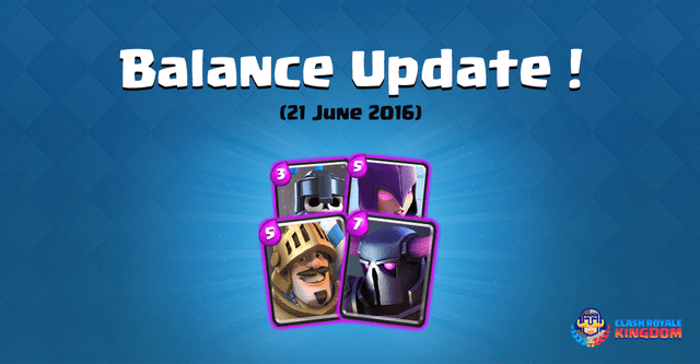 Balance Changes Live! (21 June, 2016)