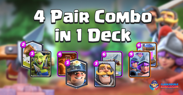 Let's Combine 4 Decks in One