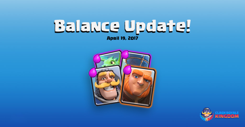 Balance Changes Live! (19 April, 2017)