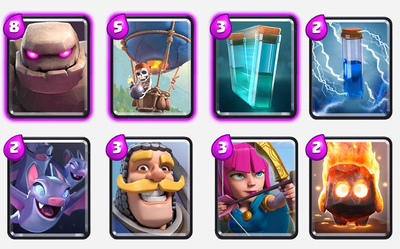 Go-Loon-&-Clone-Deck-clash-royale-kingdom