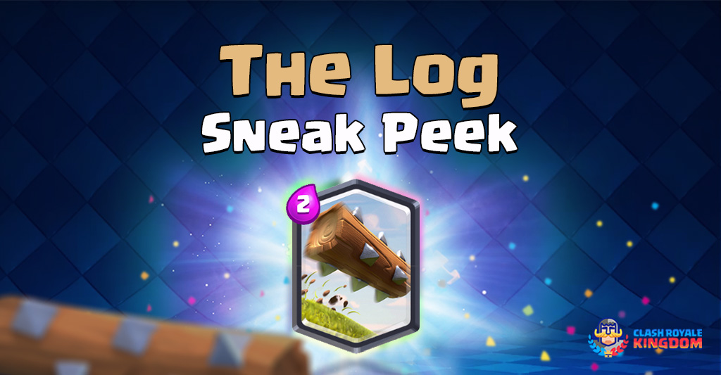 The Log Sneak Peek