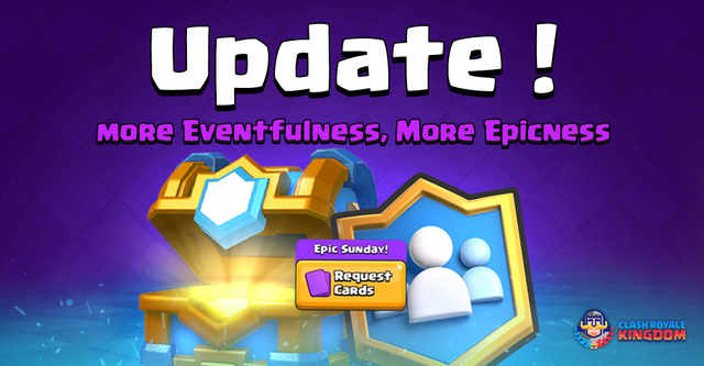 Update: More Eventfulness, More Epicness!