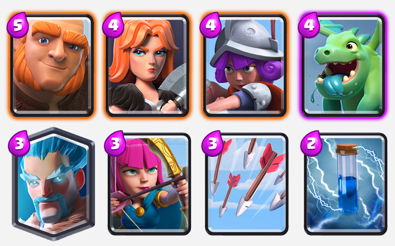 old-school-deck-clash-royale-kingdom