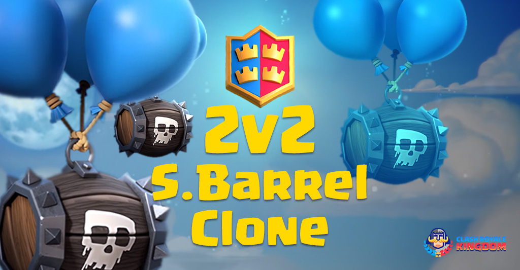 2 v 2 Skeleton Barrel Clone Analysis (Does it work?)
