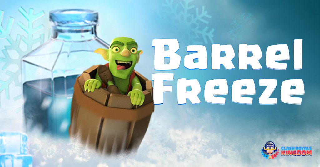Goblin Barrel Freeze Deck
