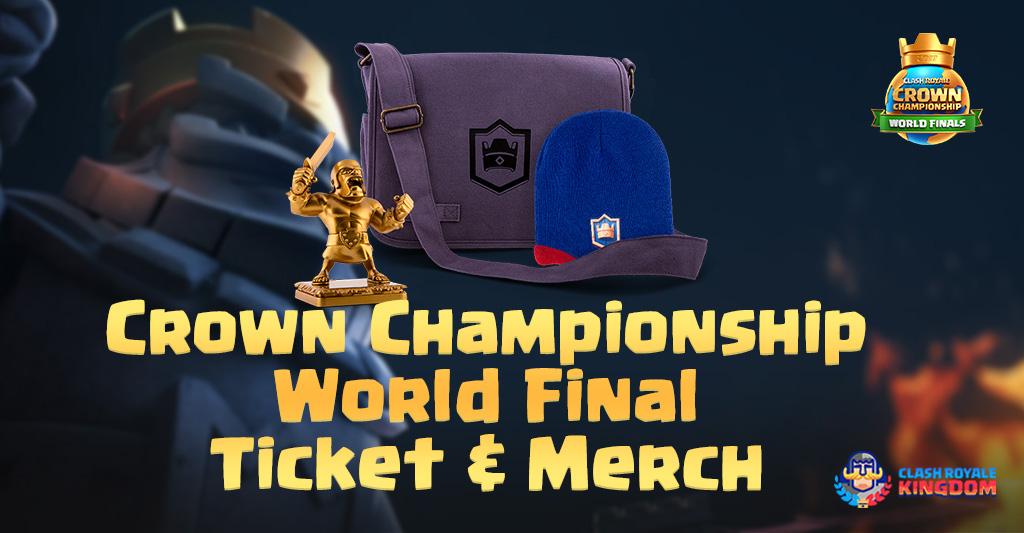 Crown Championship World Finals: Tickets & Merch!