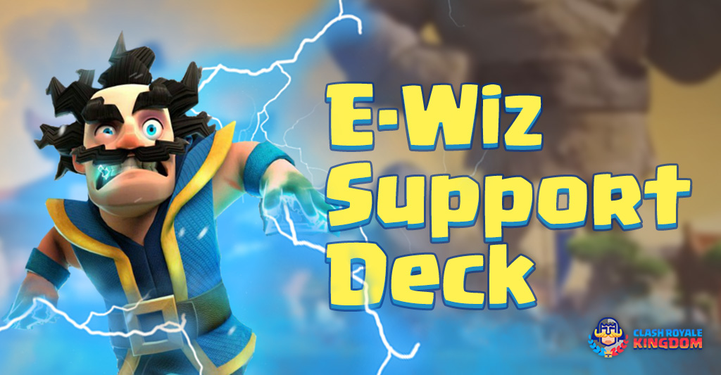 Electro Wizard Support Deck