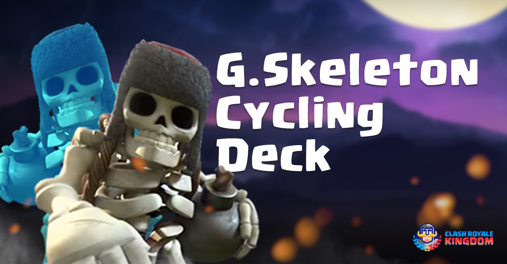 Giant Skeleton Cycling Deck