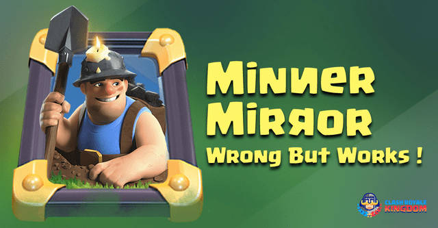 Miner Mirror Troll Deck. Wrong But Works!!