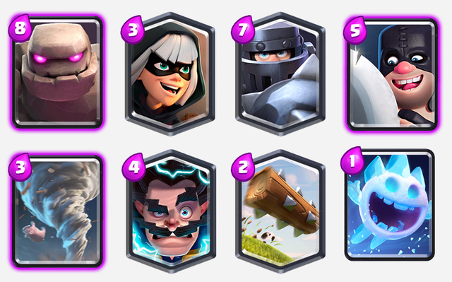 Nothing-Touches-Bandit–Deck-of-Bandit-and-Golem-clash-royale-kingdom