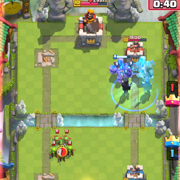 Golem-Beat-Down-with-Clone–How-This-Works?-clash-royale-kingdom