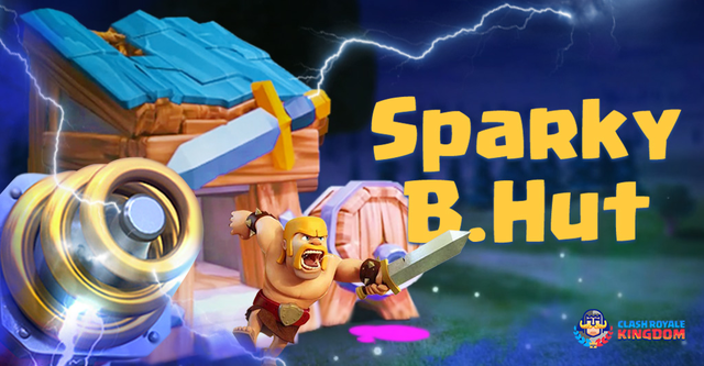 Sparky Barbarian Hut – Train Station Containing Sparky