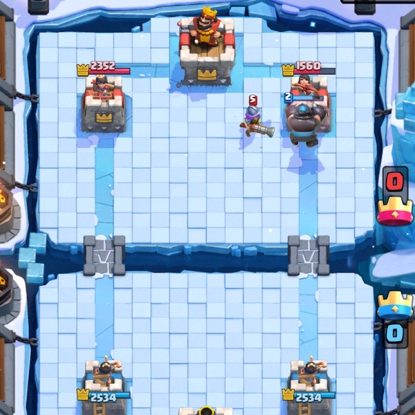 Winter-is-Coming – Mega-Knight-Balloon-Freeze-clash-roale-kingdom